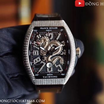 Đồng Hồ Nam Franck Muller Vanguard Dragon King Replica 1:1