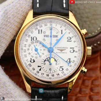 Longines Đồng Hồ Conquest Classic Chronograph Replica 1:1 Cao Cấp