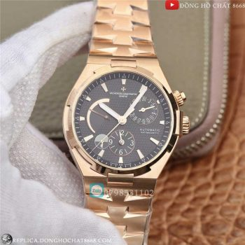 Vacheron Constantin Geneve Dual Time Power Rose Gold Replica 1:1