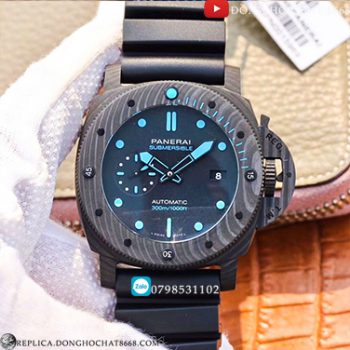 Đồng Hồ Panerai Submersible Carbon Super Fake 1:1